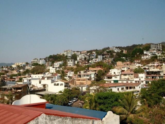 terraza vista al cerro